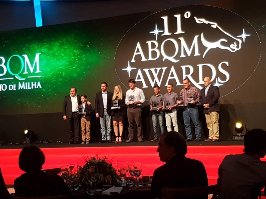 Premiação ABQM Awards Corrida
