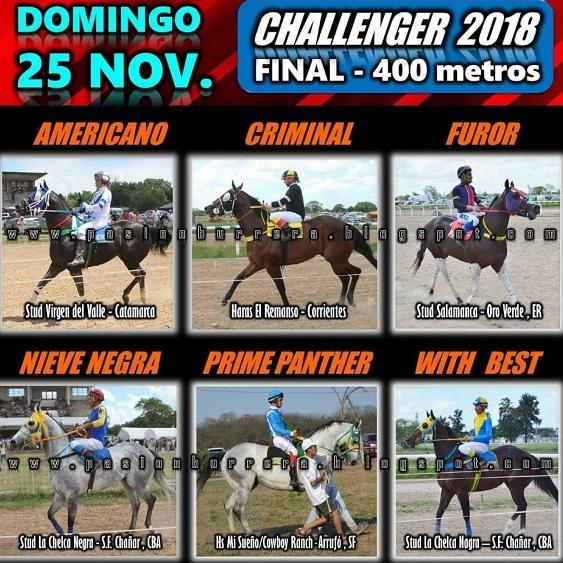 CHALLENGER COMPETIDORES