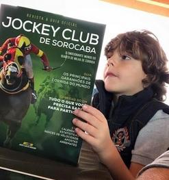 Filho do Tiago Dollo - o futuro do Jockey