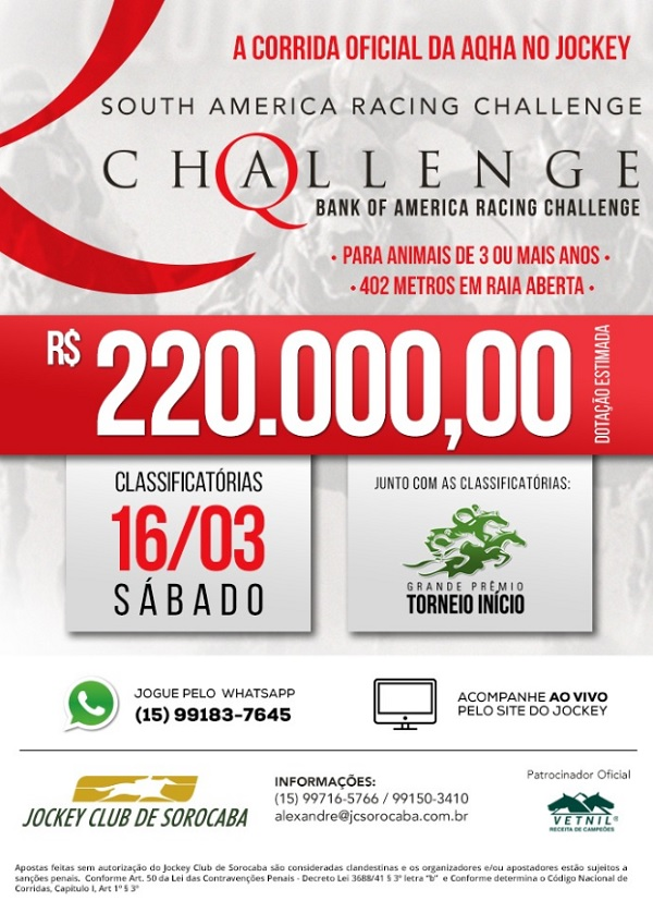 challenge 2019 março