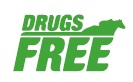 LOGO DRUGS FREE