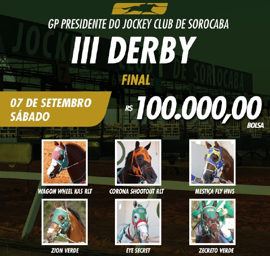 ANUNCIO DA FINAL DO dERBY