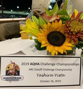 YASHIRA VISTA CORRE A FINAL DO DISTAFF CHALLENGE