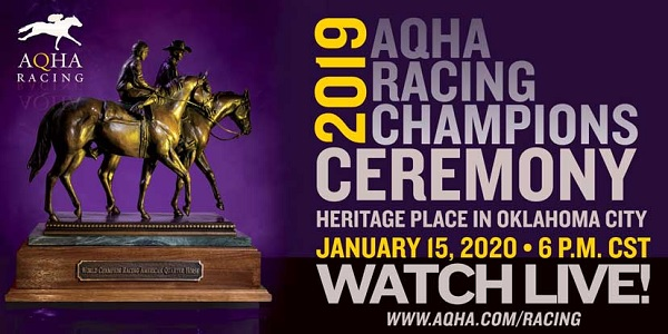 2019 aqha racing cerimony