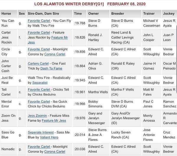 los al winter derby