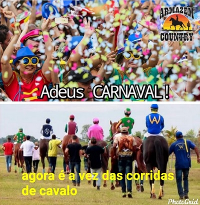 fim do carnaval
